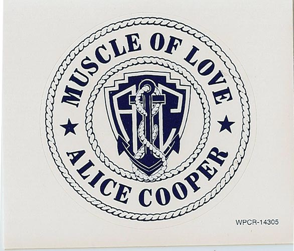 Sticker, Cooper, Alice - Muscle Of Love