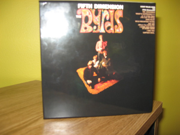 Promo box back, Byrds (The) - Fifth Dimension (+14)
