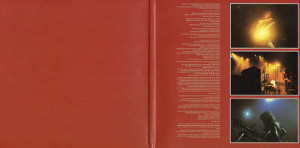 Inside gatefold sleeve, Rush - Sector 2