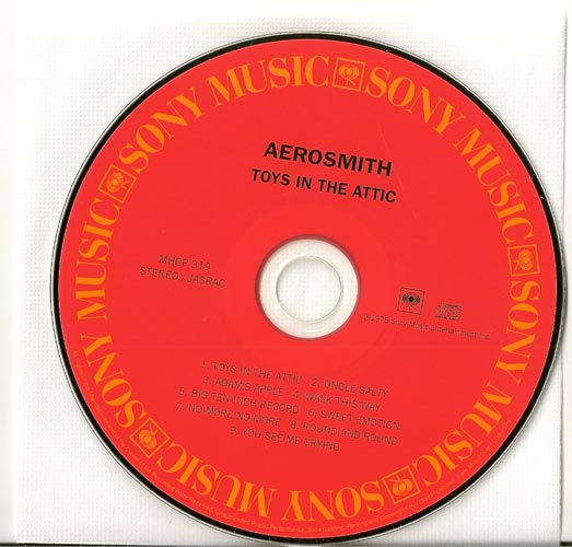 CD, Aerosmith - Toys In the Attic
