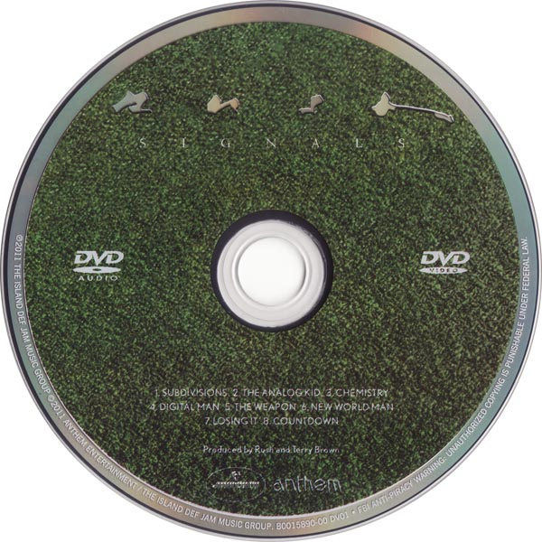 Signals DVD-Audio, Rush - Sector 3