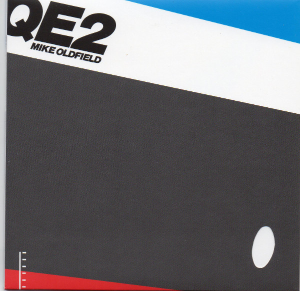 Front Sleeve original first press LP, Mike Oldfield - Q.E.2 Deluxe Edition
