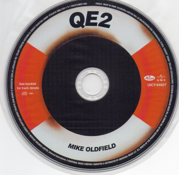 Cd 1, Mike Oldfield - Q.E.2 Deluxe Edition