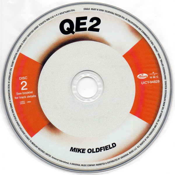 Cd 2, Mike Oldfield - Q.E.2 Deluxe Edition