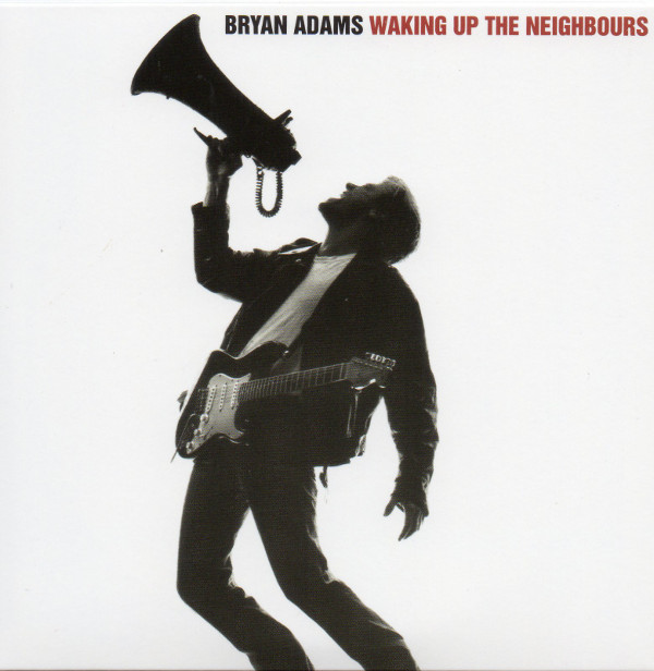 Front sleeve, Adams, Bryan - Waking Up The Neighbours (+1)