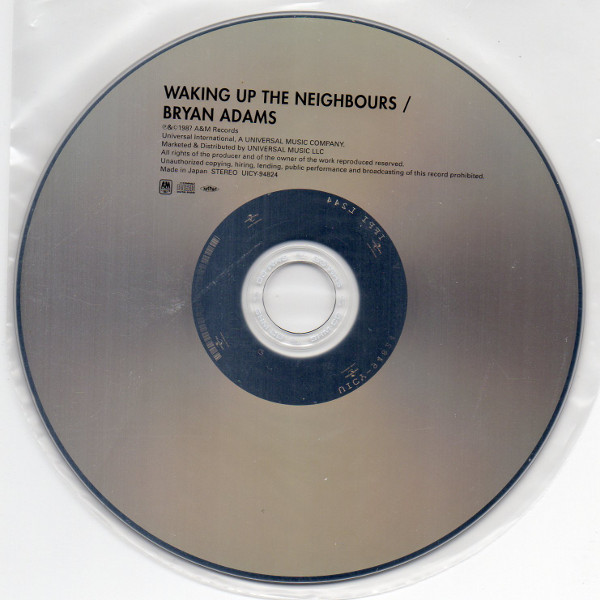 Cd, Adams, Bryan - Waking Up The Neighbours (+1)