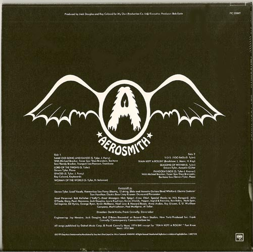 Back, Aerosmith - Get Your Wings