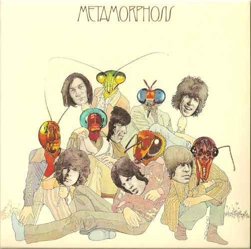 Front w/o OBI, Rolling Stones (The) - Metamorphosis