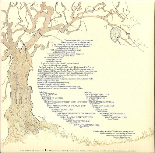 Back, Rolling Stones (The) - Metamorphosis