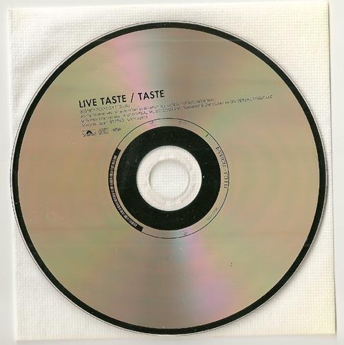 CD, Taste - Live Taste