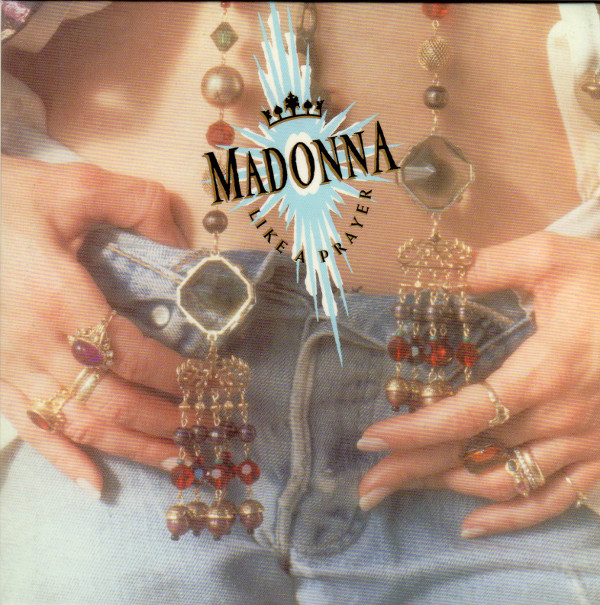 Front sleeve, Madonna - Like A Prayer