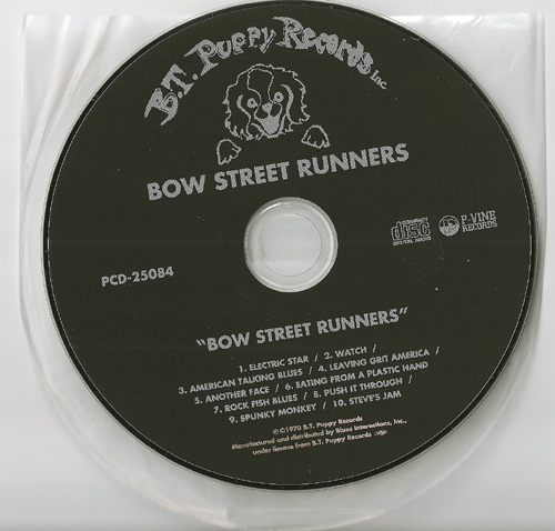 CD, Bow Street Runners - Bow Street Runners