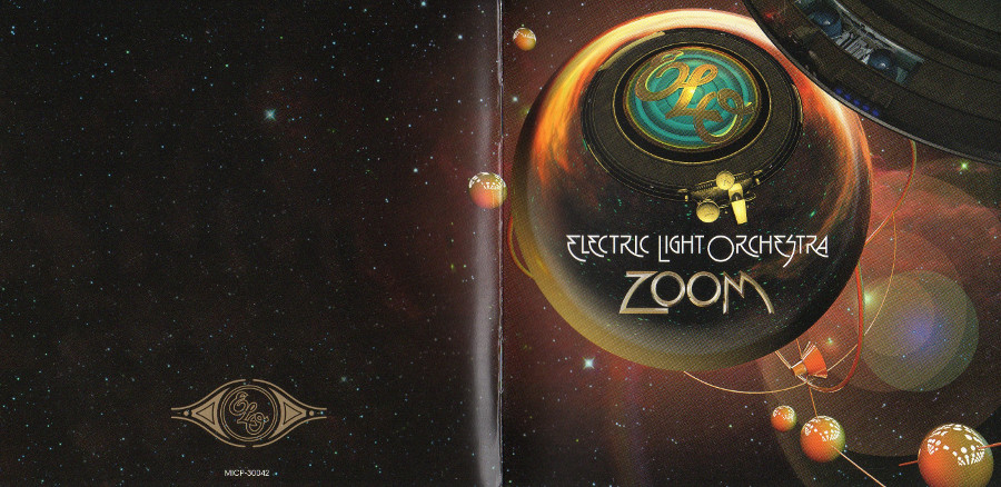 Front & back english booklet, Electric Light Orchestra - Zoom + 3 bonus tracks