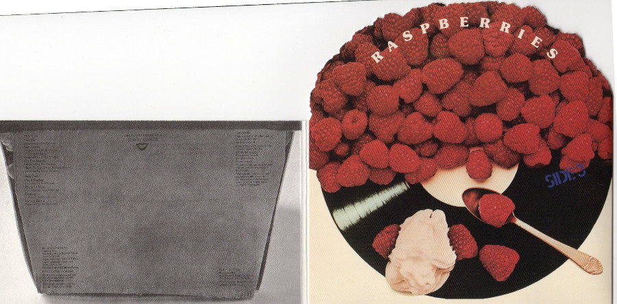 Inside gatefold sleeve, Raspberries - Side 3