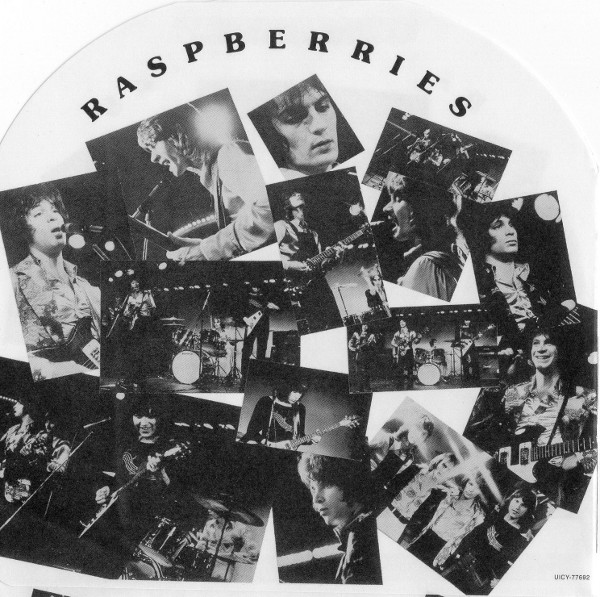 Back inner sleeve, Raspberries - Side 3
