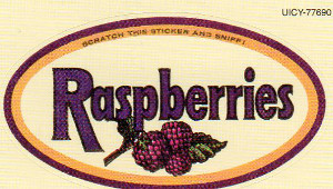 Sticker, Raspberries - Raspberries