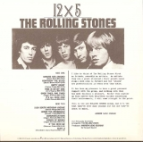 Rolling Stones (The) - 12 X 5, Back Cover