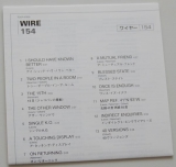 Wire - 154, Liryc book