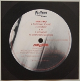 Cure (The) - Seventeen Seconds , Back Label