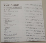 Cure (The) - Seventeen Seconds , Lyric book