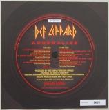 Def Leppard - Adrenalize , Front Label (numbered)