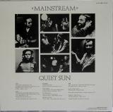 Quiet Sun - Mainstream , Back Cover