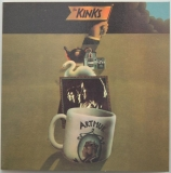 Kinks (The) - Arthur Or The Decline And Fall Of The British Empire, Front Cover