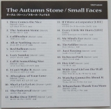 Small Faces - The Autumn Stone, Lyric book