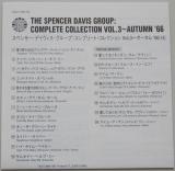 Spencer Davis Group - Autumn'66 +8, Lyric book