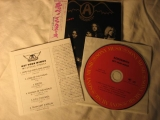 Aerosmith - Get Your Wings, Inserts and CD