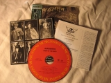 Aerosmith - Night In The Ruts, Inserts and CD