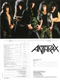 Anthrax - Spreading The Disease, Order form