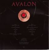 Roxy Music - Avalon, back