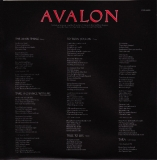 Roxy Music - Avalon, inner sleeve back