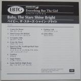 Everything But The Girl - Baby The Stars Shine Bright, Lyric book