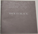 AC/DC - Back In Black, Lyric book
