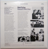 Dylan, Bob - Bringing It All Back Home, Back cover