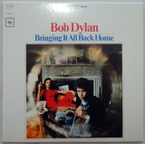 Dylan, Bob - Bringing It All Back Home, Front cover