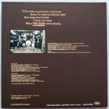 Band (The) - The Band +7, Back cover