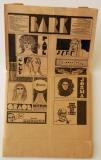 Jefferson Airplane - Bark, Bag comic side