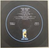 Waits, Tom - Big Time , Back Label