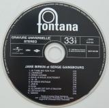 Gainsbourg, Serge + Jane Birkin - Jane Birkin et Serge Gainsbourg, CD