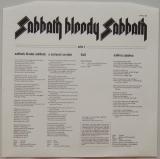 Black Sabbath - Sabbath Bloody Sabbath, Inner sleeve side A