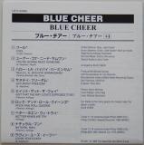 Blue Cheer - Blue Cheer, Lyric book
