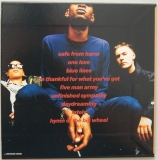 Massive Attack - Blue Lines, Back cover
