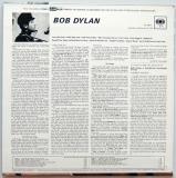 Dylan, Bob - Bob Dylan, Back cover