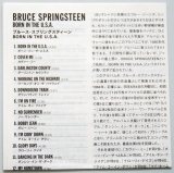 Springsteen, Bruce - Born In The USA, Lyric book