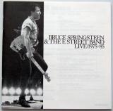 Springsteen, Bruce - Live 1975-85, Lyric book