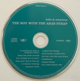 Belle + Sebastian - The Boy With The Arab Strap, CD