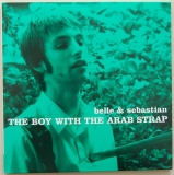Belle + Sebastian - The Boy With The Arab Strap, Front Cover